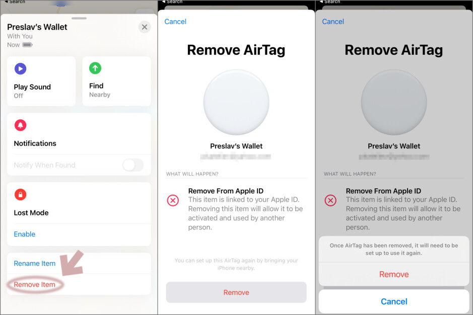 How to pair and unpair Apple AirTags