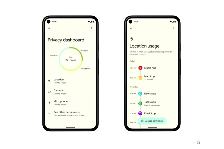 Android 12 will bring these new security features