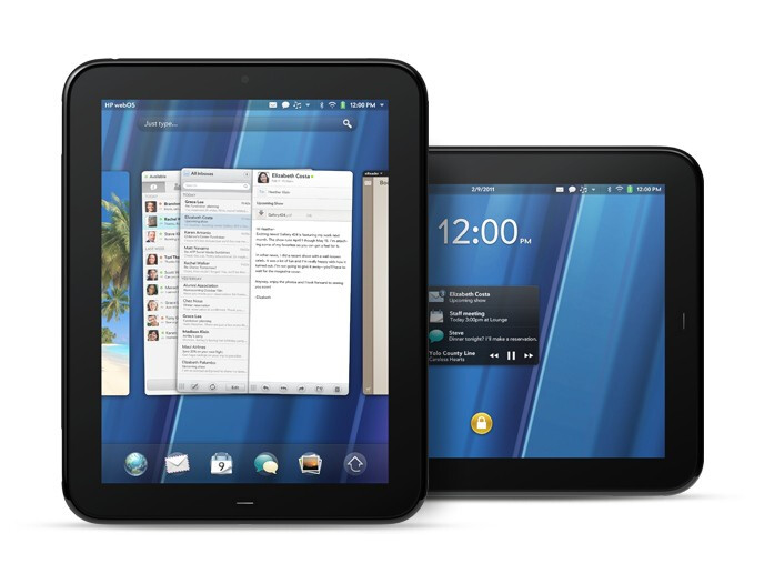 """HP TouchPad announced at the """"Think Beyond"""" event"""