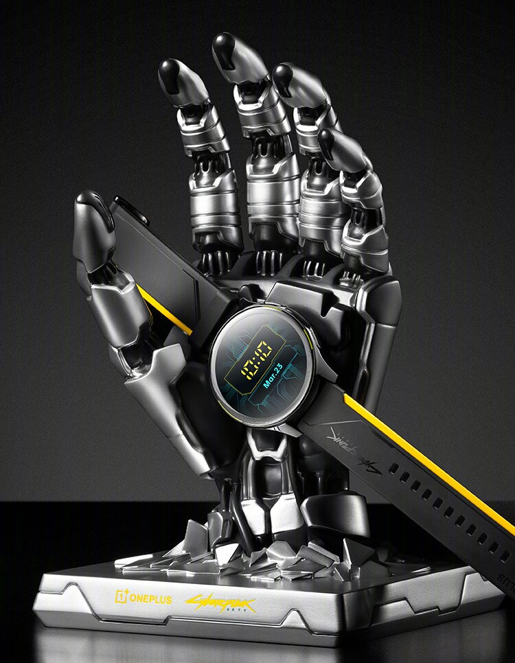 OnePlus Watch Cyberpunk 2077 limited edition goes up for pre-order