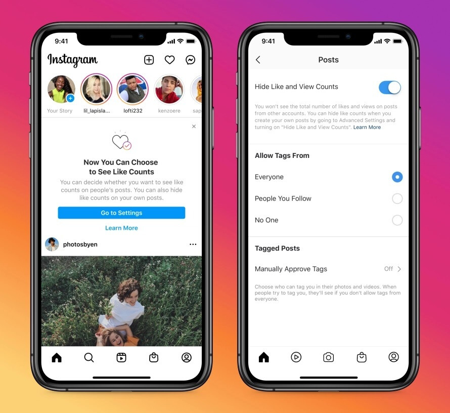 As soon as today, you can hide like counts on Facebook and Instagram - No more pressure: Facebook, Instagram users now have option to hide like counts from posts