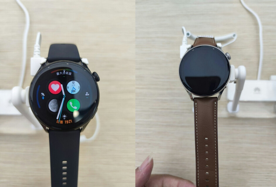 Huawei Watch 3 and Watch 3 Pro appear days before announcement running Harmony OS