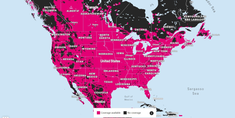 T-Mobile 5G coverage map - The full guide to 5G: speed, compatible phones, benefits
