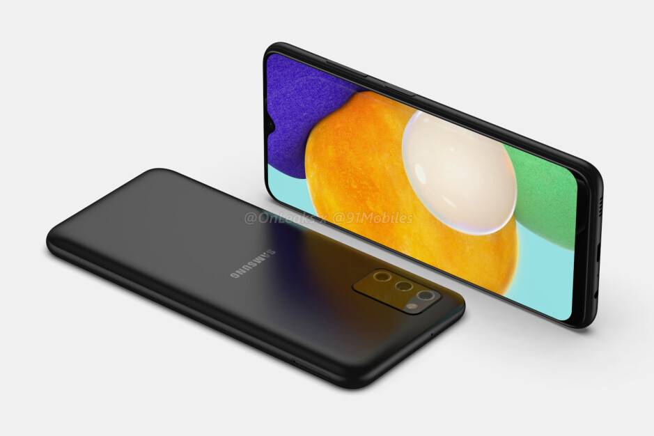 Samsung Galaxy A03s - Samsung Galaxy A03s renders and key specs leaked