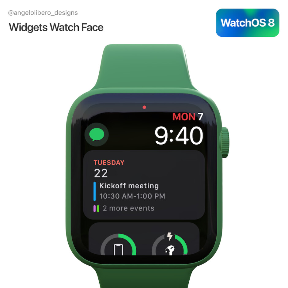 ... as would be a fresher interface and a widget system - WatchOS 8 release date, features, and Apple Watch compatibility preview