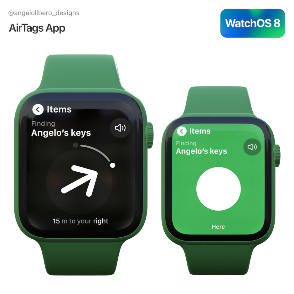 AirTag integration would be a nice addition in watchOS 8... - WatchOS 8 release date, features, and Apple Watch compatibility preview