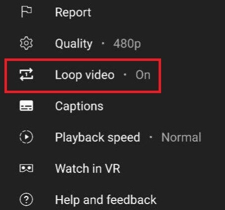 YouTube Loop video will automatically play a video over and over again from start to finish - Google is testing two features for mobile YouTube users