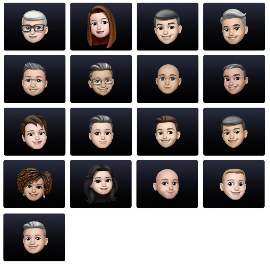 Apple execs Memoji-fy their avatars ahead of WWDC 2021
