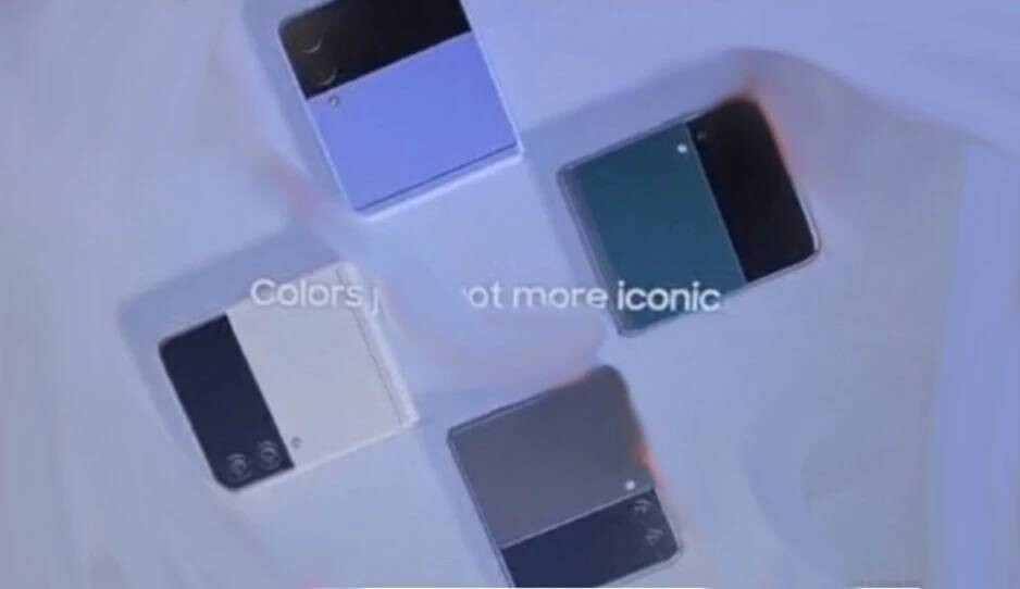 Leaked Galaxy Z Flip 3 marketing images - These four Galaxy Z Flip 3 colors are essentially confirmed