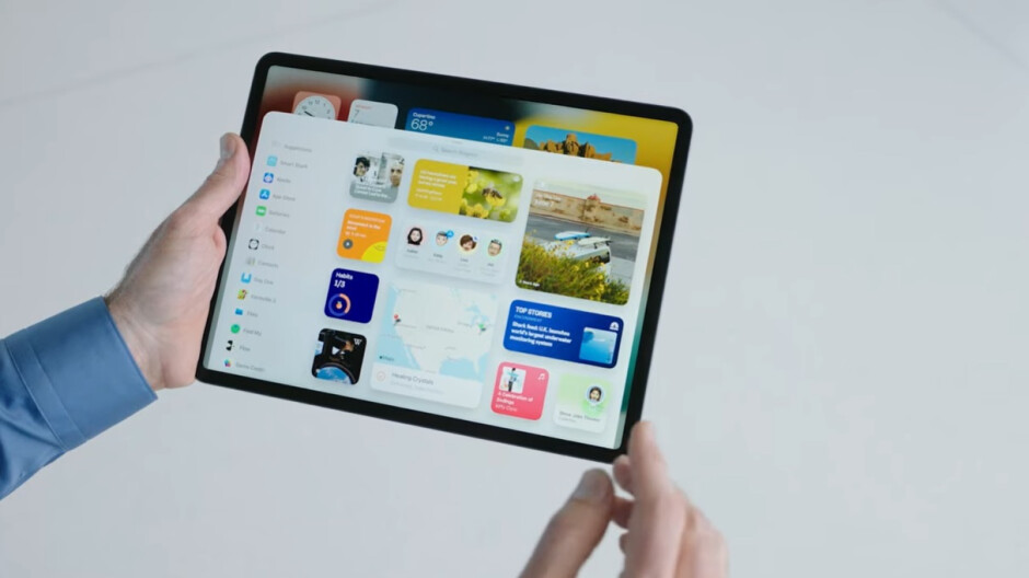 The new widgets picker screen - iPadOS 15 is official – check out the new features!