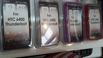 Verizon stores have been receiving cases for the HTC Thunderbolt, hinting at a launch soon for Verizon's first 4G phone