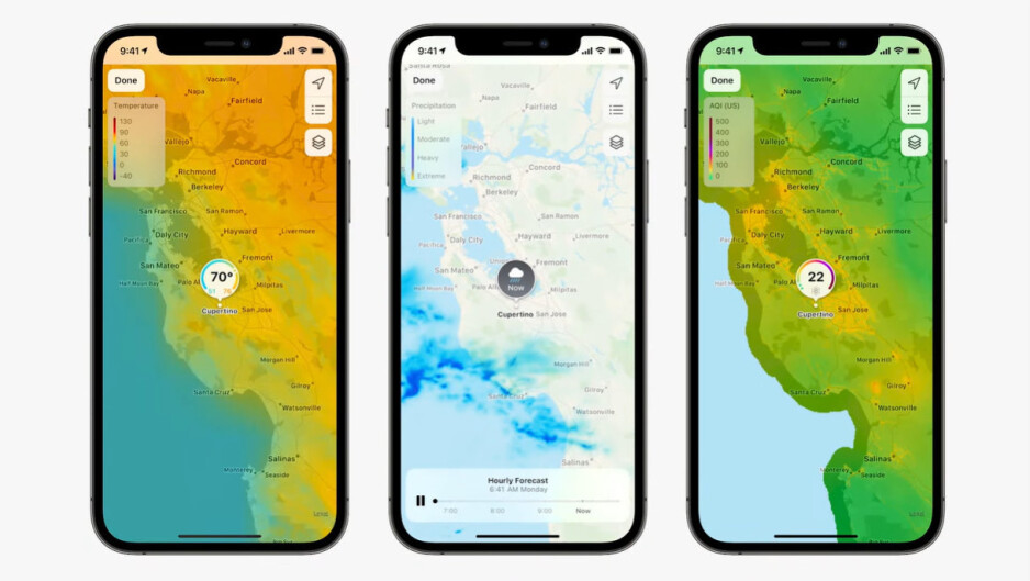 Apple's Weather app gets a new design and weather maps with iOS 15