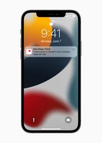 Applewwdc21-ios15-health-applock-screen-notification-steps-trend06072021