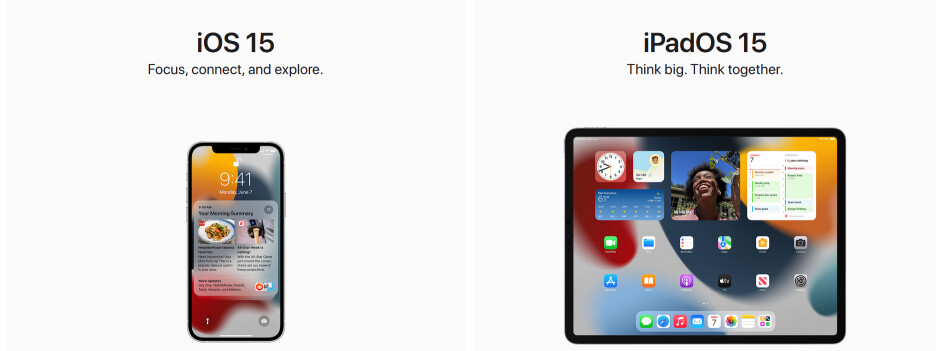 Apple unveils iOS 15, iPadOS 15, watchOS 8 and more - Apple releases first build of iOS 15, iPadOS 15 developer betas and more