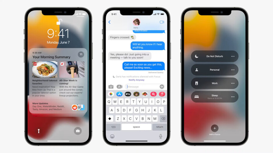 iOS 15: Apple introduces advanced Do Not Disturb mode, Notification Summary
