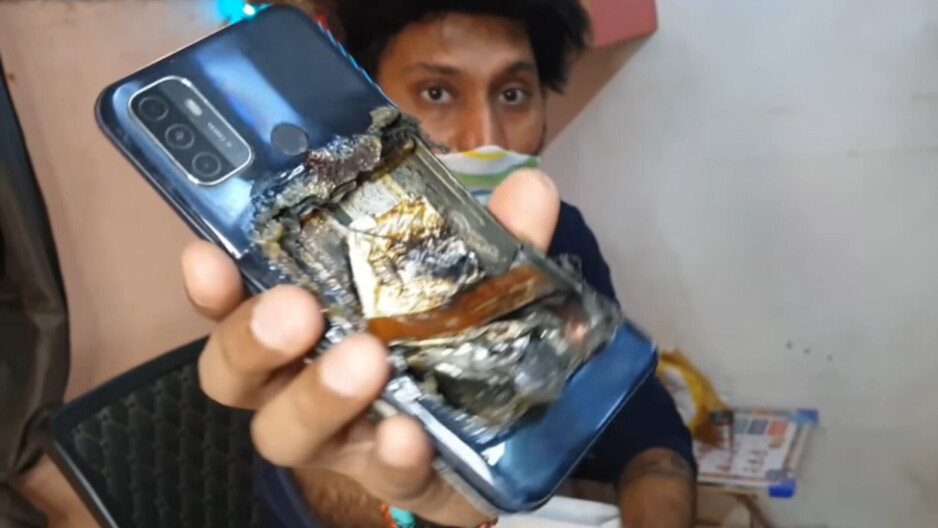 Oppo A53 explodes in man's pocket, leaving him severely injured