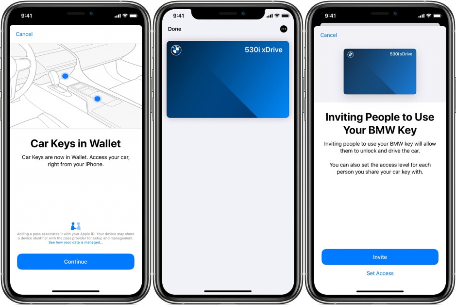 You can start your BMW with Apple Wallet and share access to other iPhone users - Apple Wallet will support IDs and door locks with iOS 15
