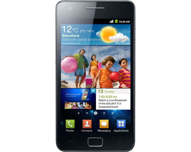An accidental leak by a Korean news site revealed this picture, allegedly of the Samsung Galaxy S 2 - Samsung Galaxy S 2 picture leaked by Korean news site; 10.1 inch Samsung Galaxy Tab confirmed