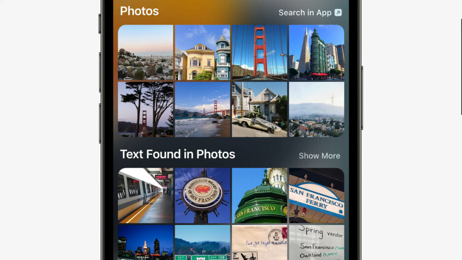 Apple adds Image Search to Spotlight in iOS 15