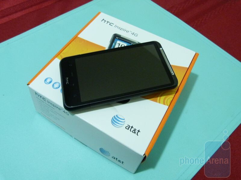 HTC Inspire 4G Unboxing