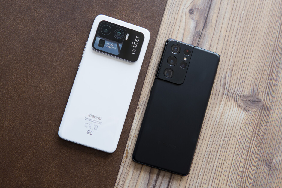 The Xiaomi Mi 11 Ultra is competing directly with the Samsung Galaxy S21 Ultra - Xiaomi to release a flagship with an under-display camera and UWB this year