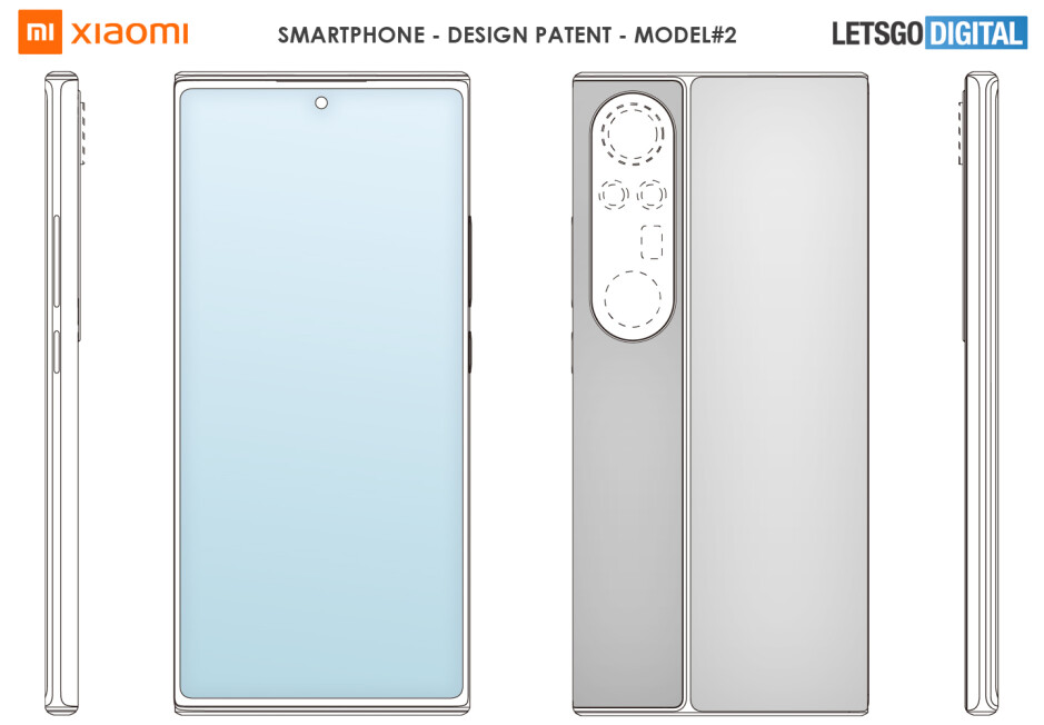 Xiaomi's latest smartphone patents hint at a continued focus on cameras