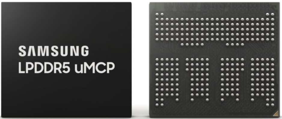 Samsung's DRAM and NAND integrated uMCP system will bring flagship performance to mid-range handsets - Samsung starts production of its multichip package delivering flagship performance to mid-rangers
