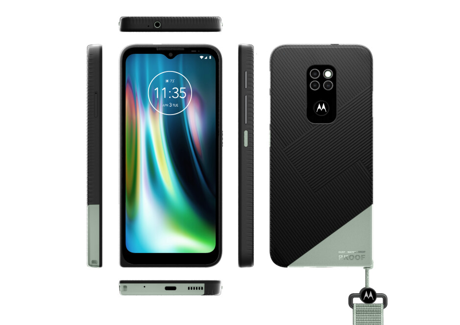 The 2021 Defy looks tough enough to withstand almost anything - Motorola Defy (2021) is official; The tough guy on the block
