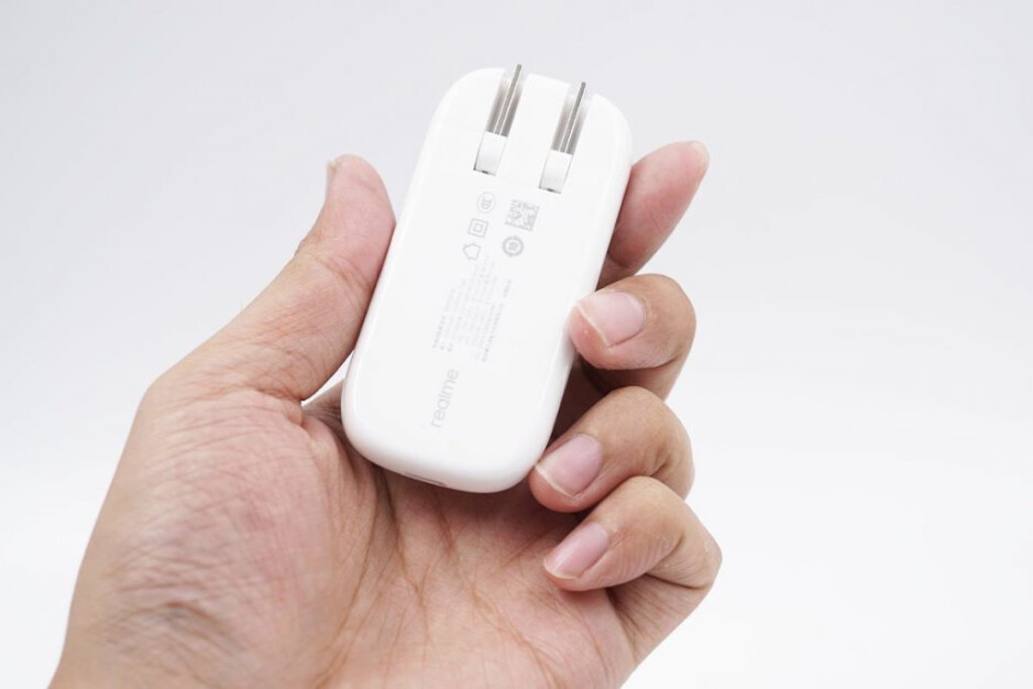 Realme's tiny fast charger. Photo credi - ChargerLAB. - Is this the future of fast wired charging: 55 grams = 50W of power