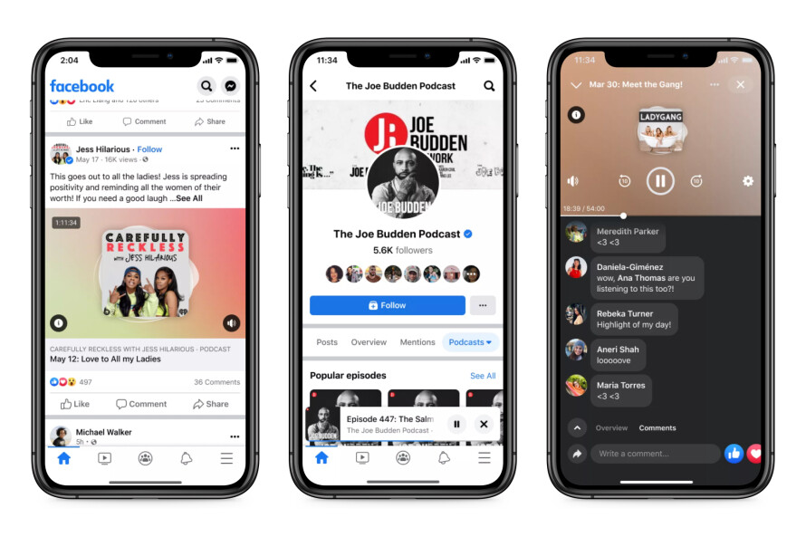 Facebook launches its Clubhouse competitor Live Audio Rooms