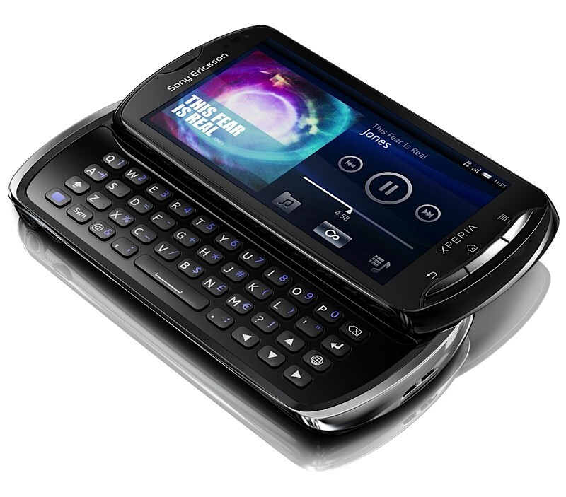 Welcome The Sony Ericsson Xperia Pro A 3 7 Inch Qwerty