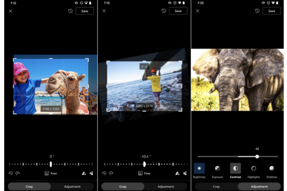Photo cropping, rotation and light adjustments - Microsoft OneDrive users are getting new photo editing features on Android