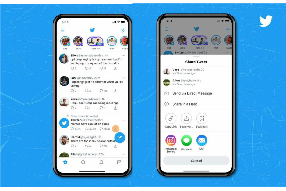 You can finally share tweets to Instagram Stories!