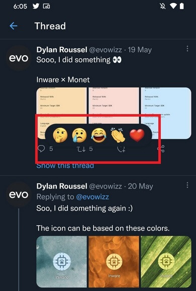 Twitter's emoji reactions won't work yet, but they appear to be coming soon - Twitter's Facebook-like emoji based Tweet Reactions could be coming to all very soon