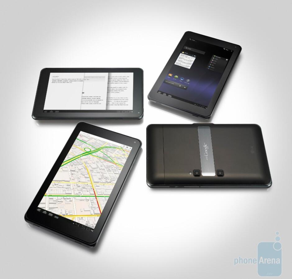 LG details the LG Optimus Pad tablet