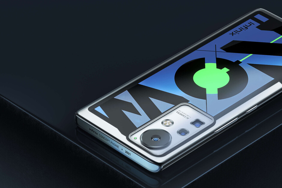 This crazy concept phone changes colors and fully charges in 10 minutes