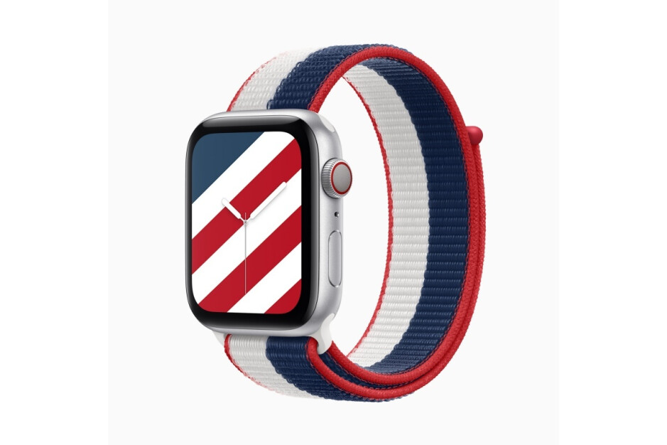 Hot new collection of patriotic Apple Watch bands arrives just in time for the Olympics