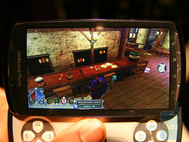 Sony Ericsson Xperia Play Hands-on