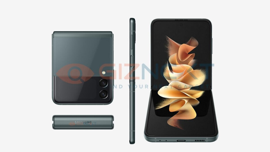 Leaked image of the Galaxy Z Flip 3. - Why I might ditch my iPhone for a Galaxy Z Flip 3