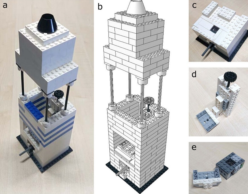 Make an affordable high-resolution microscope using LEGO and the iPhone 5 camera module
