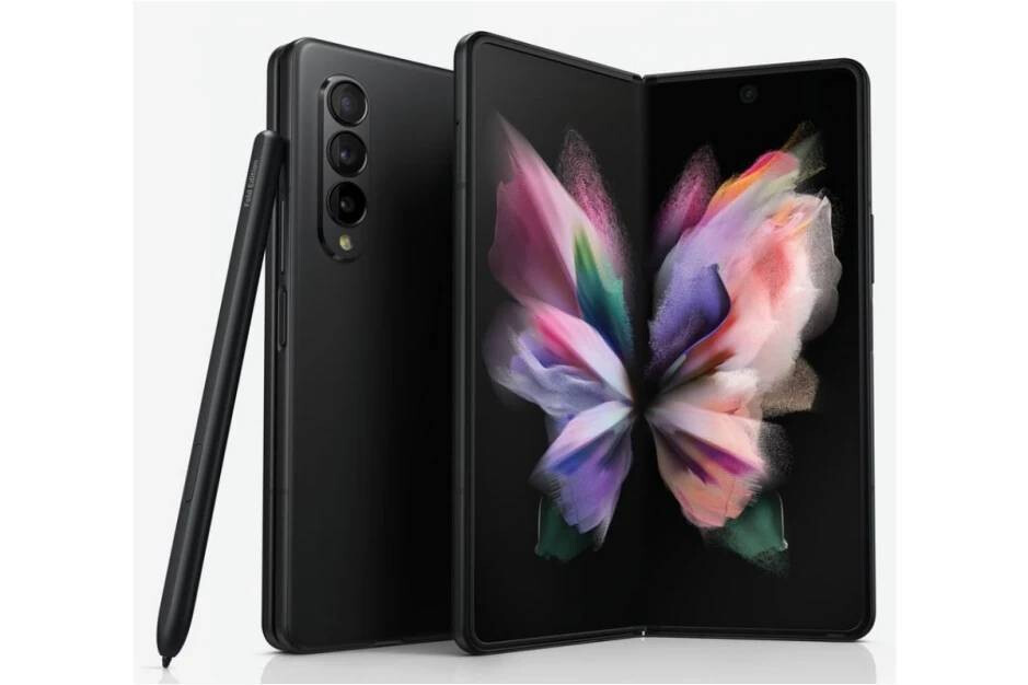 Alleged Galaxy Z Fold 3 press images show that the under-panel camera is visible - Xiaomi's under-display camera smartphone could one-up Galaxy Z Fold 3 on aesthetics