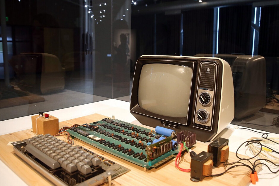 The first Apple computer, product of Wozniak's ingenuity and the offerings of open-source technology - Apple co-founder Steve Wozniak releases video in support of right-to-repair