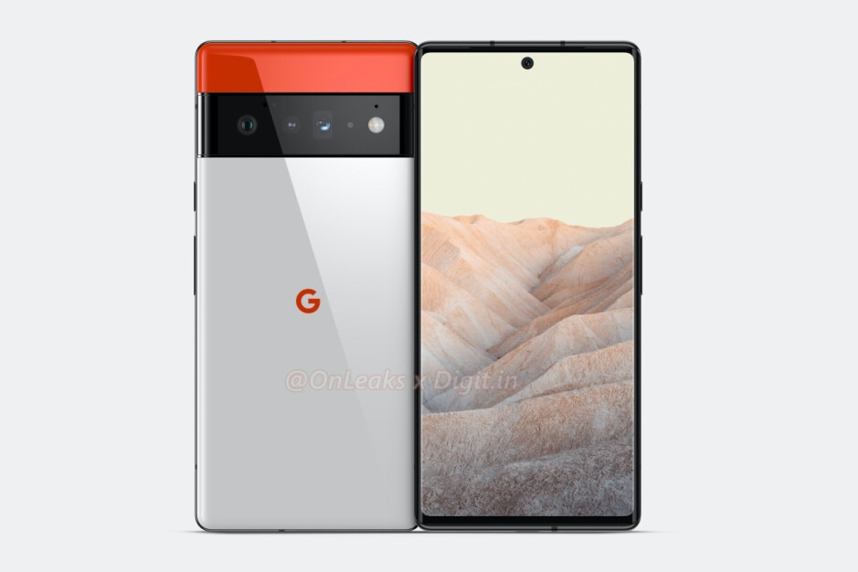 Previously leaked Pixel 6 Pro renders - These are the full Google Pixel 6 and Pixel 6 Pro leaked specs