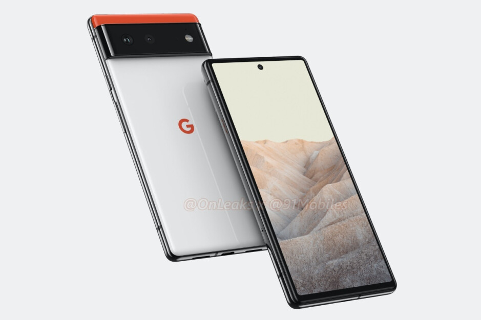 Previously leaked Pixel 6 renders - These are the full Google Pixel 6 and Pixel 6 Pro leaked specs