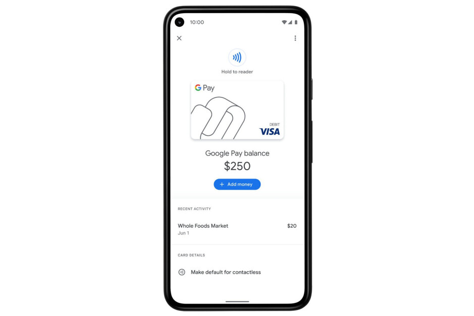 Users in the States will now be able to pay in stores with a Google Pay virtual card