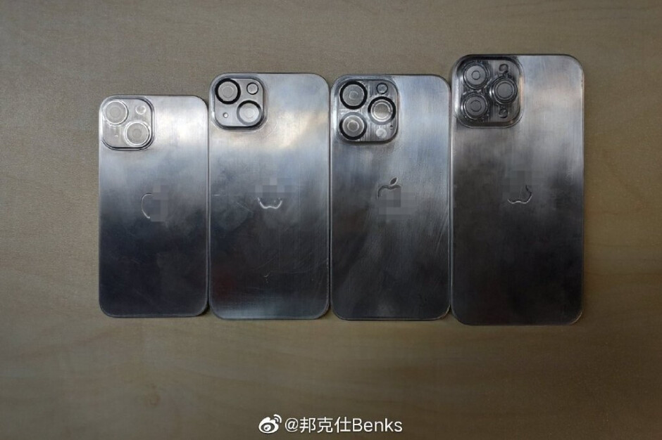 Leaked iPhone 13 dummy models posted online by Ice Universe - Leaked dummies might be the closest approximation to official iPhone 13 models