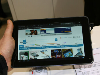 LG Optimus Pad / T-Mobile G-Slate Hands-on