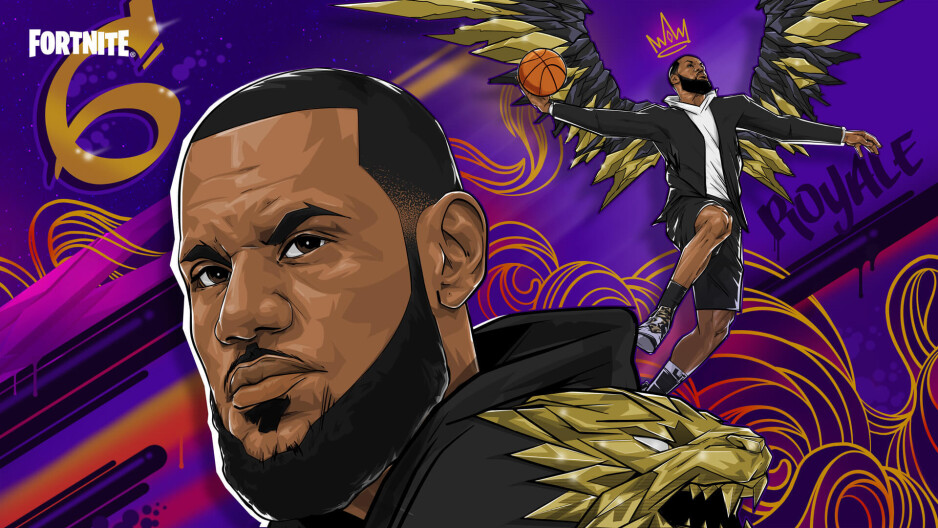 LeBron James is coming to Fortnite on July 14th