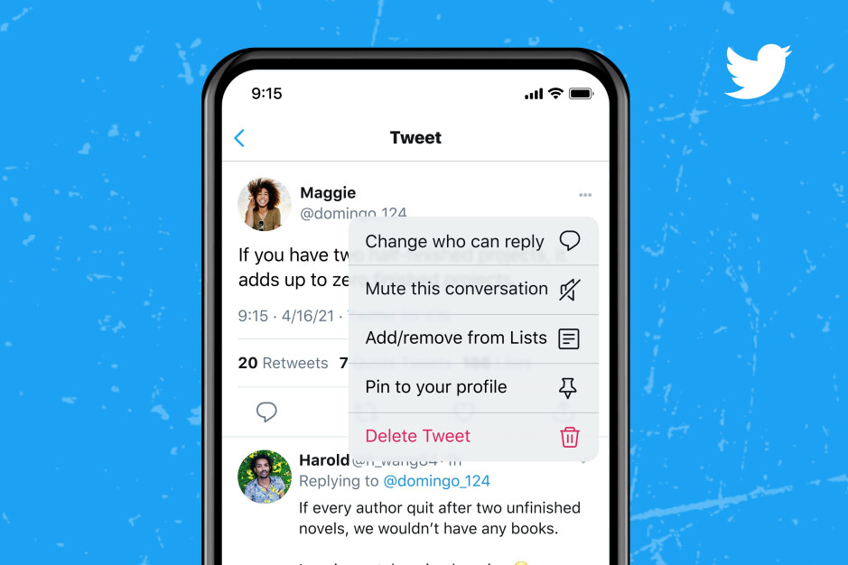 Three reply filters are available - You can now limit replies to your Tweet even after it has been published on Twitter