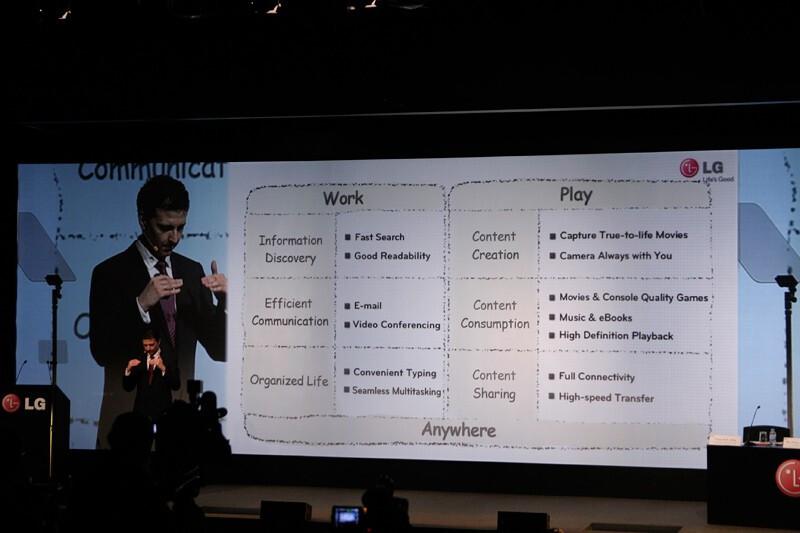 LG Optimus Pad / T-Mobile G-Slate Hands-on